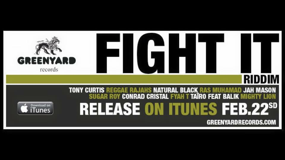 MightyLion - Good Vibration (Fight it Riddim - GreenYard Production) - MightyLion